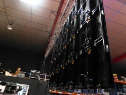 Ecran géant à Leds IP 65 MLA Dijon location video dalles à leds mur de leds