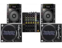 Régie DJ Pioneer DJM 700, CDJ 900, Technics SL 1210 Location Dijon