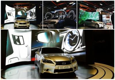 Ecran leds vidéo Indoor P6 Curve location MLA Dijon