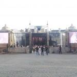 Concert et écrans géants plein jour MLA Dijon