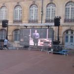 Prestation Ecran géant à LED Festival Dièse Dijon MLA
