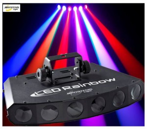 Effet DJ Jb Systems Rainbow LED 3 watts couleurs