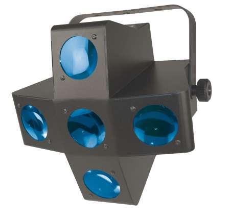 Contest DELIRIUM - Projecteur en croix à 320 LEDs RGBWA