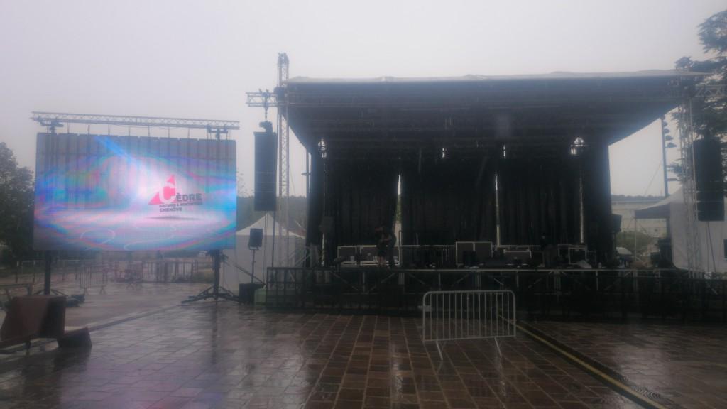 Ecran plein jour à Led 20m2 (concert Chenove)