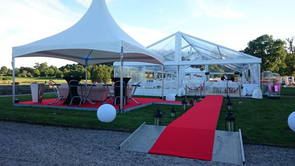 Espace Fumeur et tapis rouge By MLA Dijon