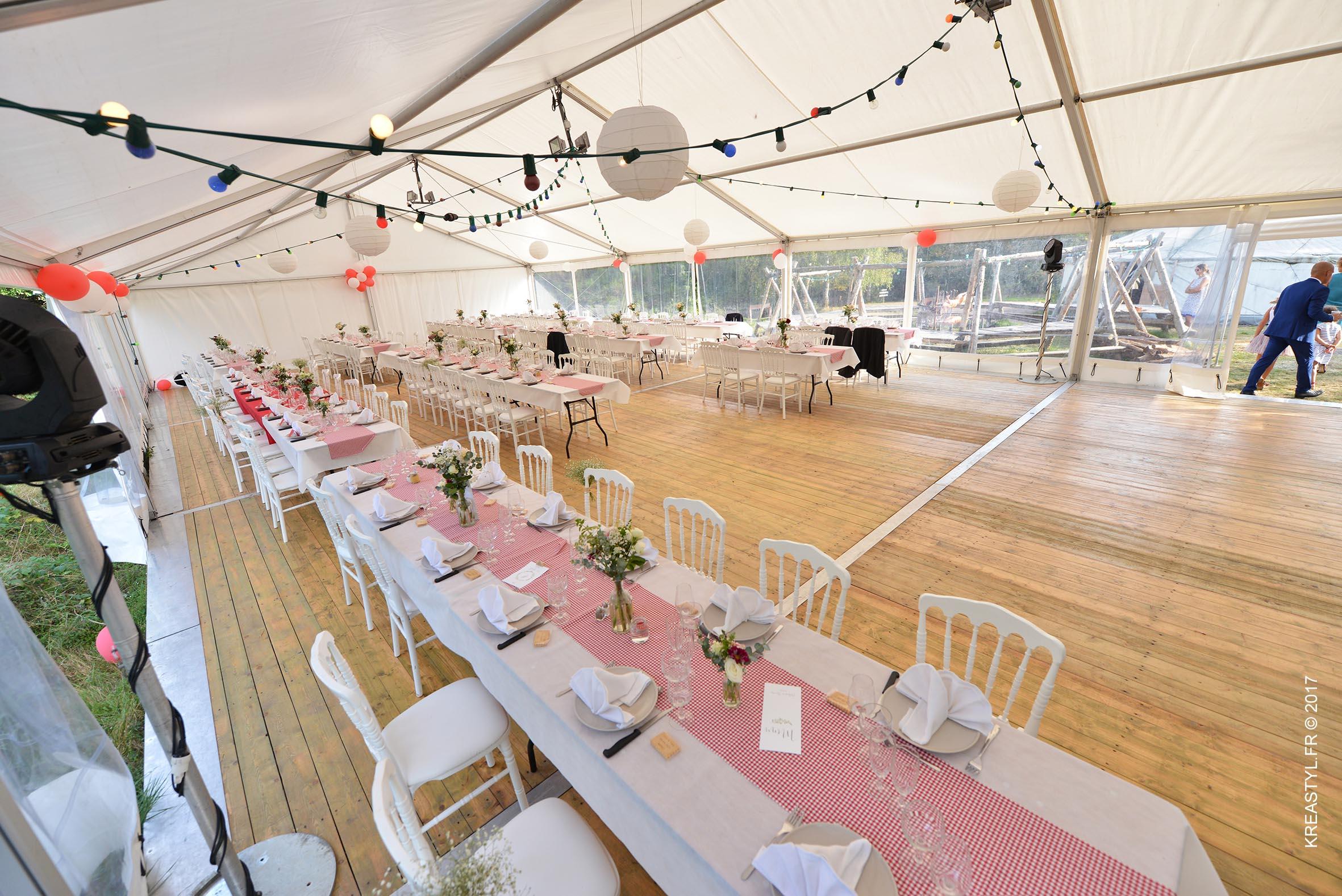 location tente mariage yonne